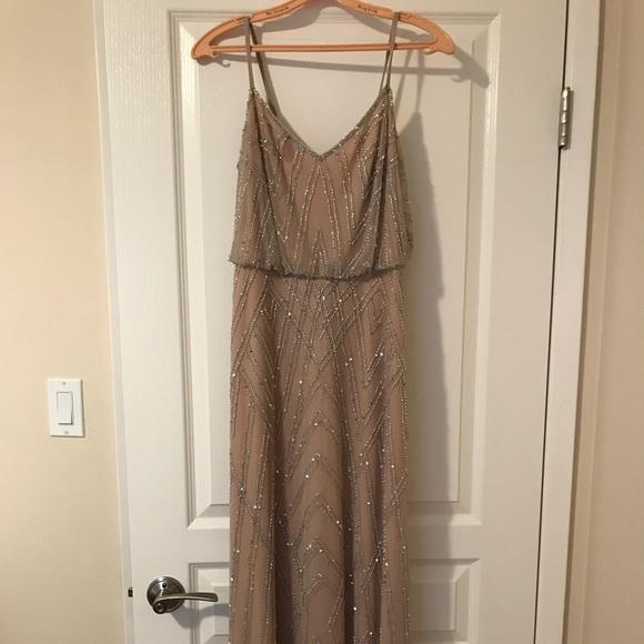 eaceb36a20 Adrianna Papell Dresses   Skirts - Diamond Beaded Blouson Dress